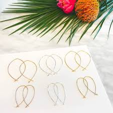 hammered hoops fields style beauty jewelry stella dot