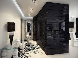 black white interior splash of color in a black white environment interiors