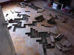 parquet wood block flooring how to fix repairs before and after