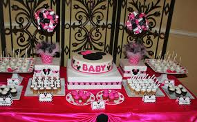 baby shower food ideas baby shower ideas minnie mouse theme