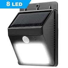 solar light wall solar lights syhonic 8 leds solar powered garden waterproof