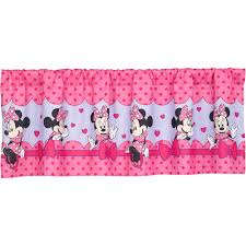 disney minnie mouse bow power girls bedroom curtain valance disney minnie mouse bow power girls bedroom curtain valance walmart com