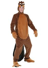 deluxe plus size halloween costumes amazon com busy beaver costume clothing
