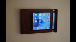 Wall Mount Charging Station by Ipad Wall Mount Youtube