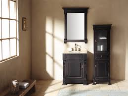 Small Sink Vanity For Small Bathrooms by Bathroom Fancy Black Solid Wooden Small Vanity With Single White