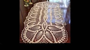 Crochet Table Cloth Crochet Tablecloth Tutorial Youtube
