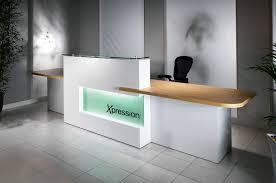 Illuminated Reception Desk Interior Reception Desk Design Outdoor Fireplace Ideas