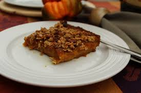 rich decadent butternut squash apple bars julie hoag writer