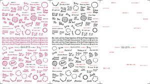 new japanese style letters dialog flower 6pcs lot design watermark