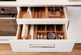 ikea küche schublade geöffnete schublade unter der arbeitsplatte mit råsdal