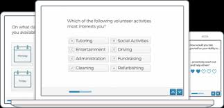 make volunteer application forms free template typeform