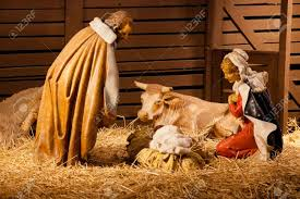 nativity scene is a depiction of the birth of jesus as described