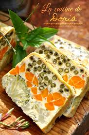la cuisine de doria la cuisine de doria luxe collection terrine de légumes au basilic la