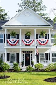 farmhouse porches 12 spectacular farmhouse style patriotic porches one thousand oaks