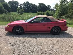 1998 convertible mustang pre owned 1998 ford mustang cobra convertible in olive branch near