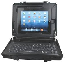 Rugged Ipad Case With Keyboard Ikey Streetcase Rugged Tablet Case With Integrated Keyboard