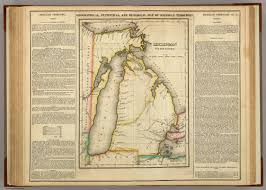 Maps Of Michigan Map Of Michigan Territory David Rumsey Historical Map Collection