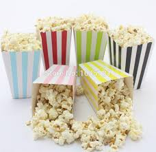 popcorn favor bags aliexpress buy ipalmay wedding party favor bags chevron