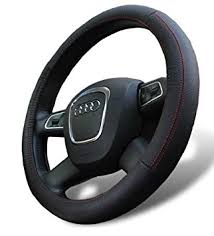 toyota rav4 steering wheel cover amazon com leather steering wheel cover for toyota 4runner avalon