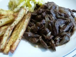 comment cuisiner le coeur de boeuf coeur de veau aux oignons la cuisine de cathy