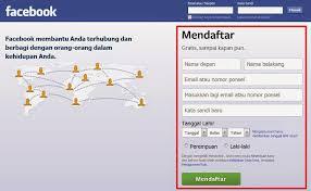 membuat facebook yg baru cara membuat facebook baru mudah update 2016 belajar komputer