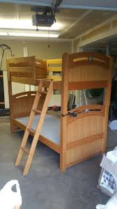 Solid Oak Bunk Bed Solid Oak Bunk Bed By Lea Furniture Grant Hill Collection Bunkbed
