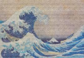 japanese wave wall mural mural mosaics tile wallpaper