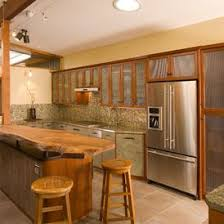 what type of glass is used for cabinet doors unique kitchen how 2 different types of glass
