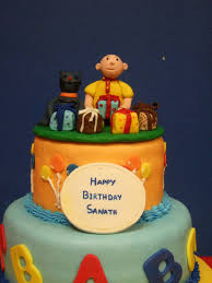 caillou cake topper dhanya s delights caillou cake