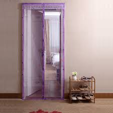 Magnetic Curtains For Doors Magnetic Door Curtain For Mosquito Net Decorate The House With