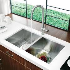 kitchen sink and faucet ideas modern kitchen sink lightandwiregallery
