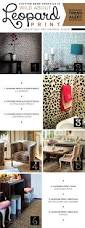 leopard print home decor wild about leopard print stencil stories