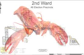 chicago gerrymandering map what the heck is up with the 2nd ward map gold coast chicago