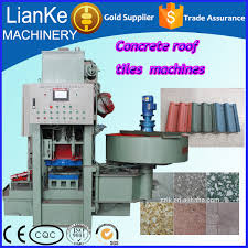 Roof Tile Manufacturers Concrete Roof Tile Manufacturing Machines Hydraulic Roof Tile