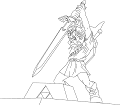 zelda coloring page awesome stained glass zelda coloring page