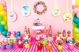 choosing lalaloopsy birthday party ideas beauty home decor