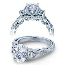 art deco oval cut engagement rings