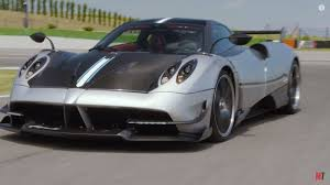 koenigsegg huayra watch the 2018 pagani huayra bc blast around a racetrack news
