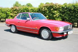 classic red mercedes 1986 mercedes benz 420 sl r107 classic car auctions