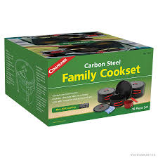 carbon steel family cookset cook u0026 grill coghlan u0027s