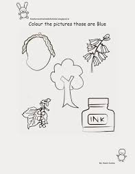 Fun Worksheets For Kindergarten Free Printable Fun Worksheets For Class Nursery Colour The