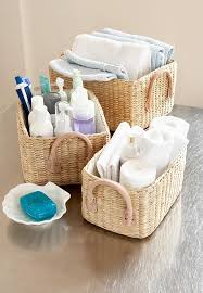 Wicker Basket Bathroom Storage Wicker Baskets For Bathroom Storage My Web Value