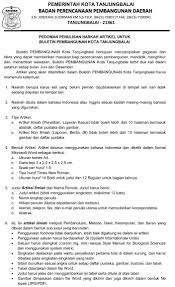 daftar pustaka merupakan format dari buletin bappeda badan perencanaan pembangunan daerah kota tanjungbalai
