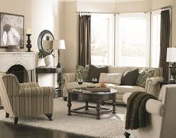 Transitional Style Living Room Furniture Bernhardt Brae Five Seat Sectional Sofa With Transitional Style