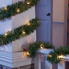 philips 18ft prelit artificial garland clear lights target