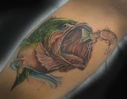 12 fishing tattoos that will your jaw drop