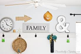 Home Decor Thrift Store Thrift Store Diy Anchor Home Decor Domestically Speaking