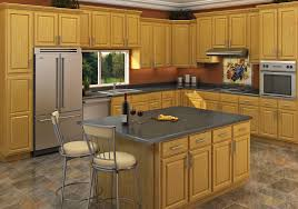 Kitchen Oak Cabinets Carolina Oak Rta Cabinets Solid Oak Cabinet Mania