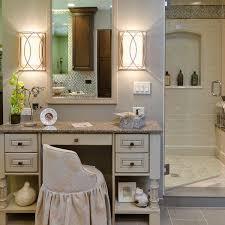 bathroom makeup vanity ideas bathroom slipcovered vanity stool and bathroom makeup vanity