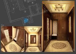 Entry Vestibule by 3d Model Classic House Vestibule Cgtrader
